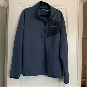 columbia fleece quarter zip